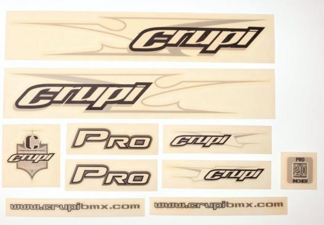 Crupi Rahmenaufkleber Set